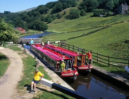 Boating holiday on Yorkshire canals
